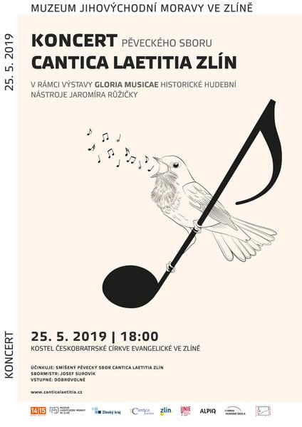 Koncert Cantica laetitia v rámci výstavy Gloria musicae