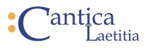 Cantica Laetitia